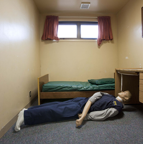 Richard Ross Photographs Children in Solitary Confinement