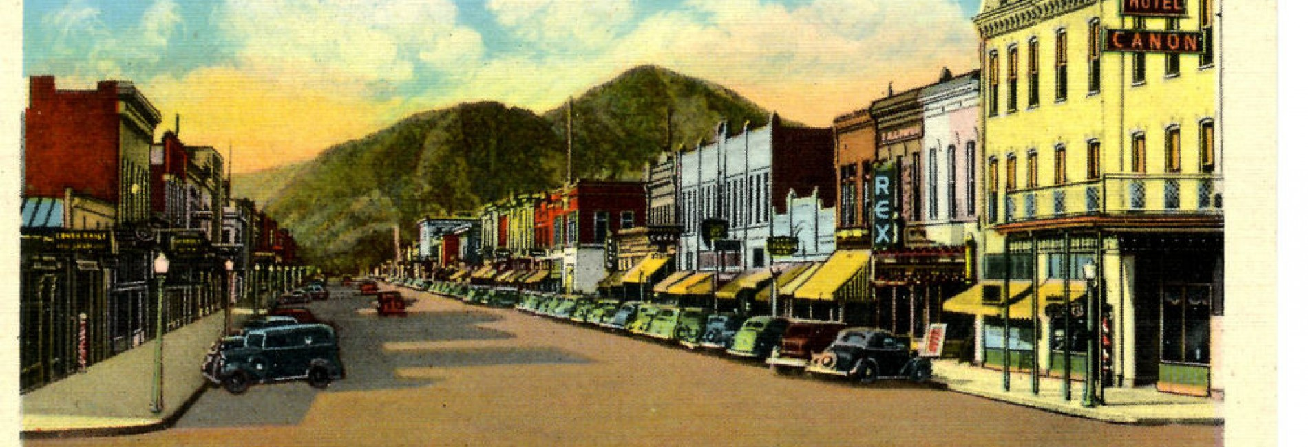 canon city postcard