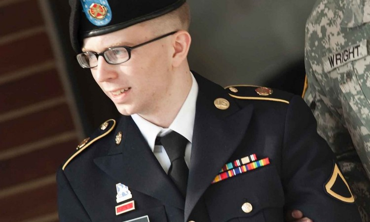 Bradley Manning in Uniform