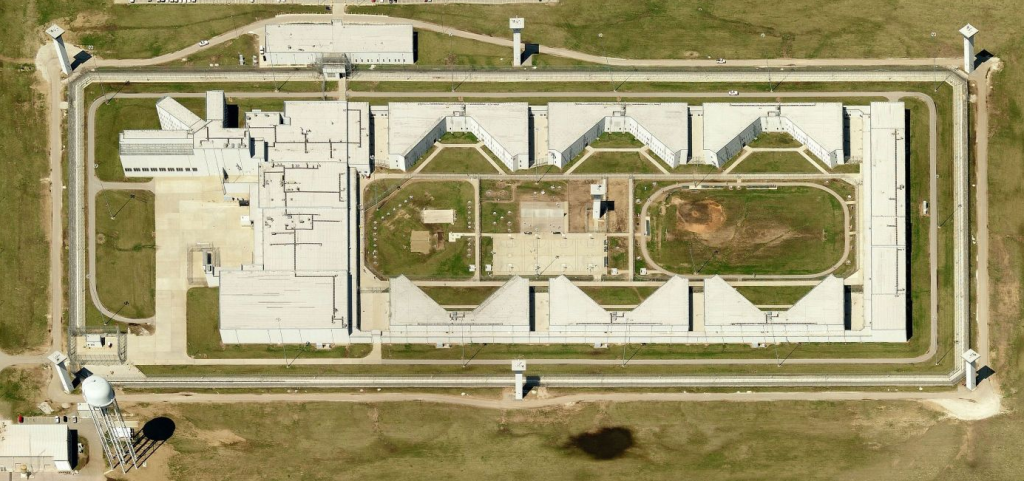 Terre Haute Federal Prison, home to the first Communications Management Unit