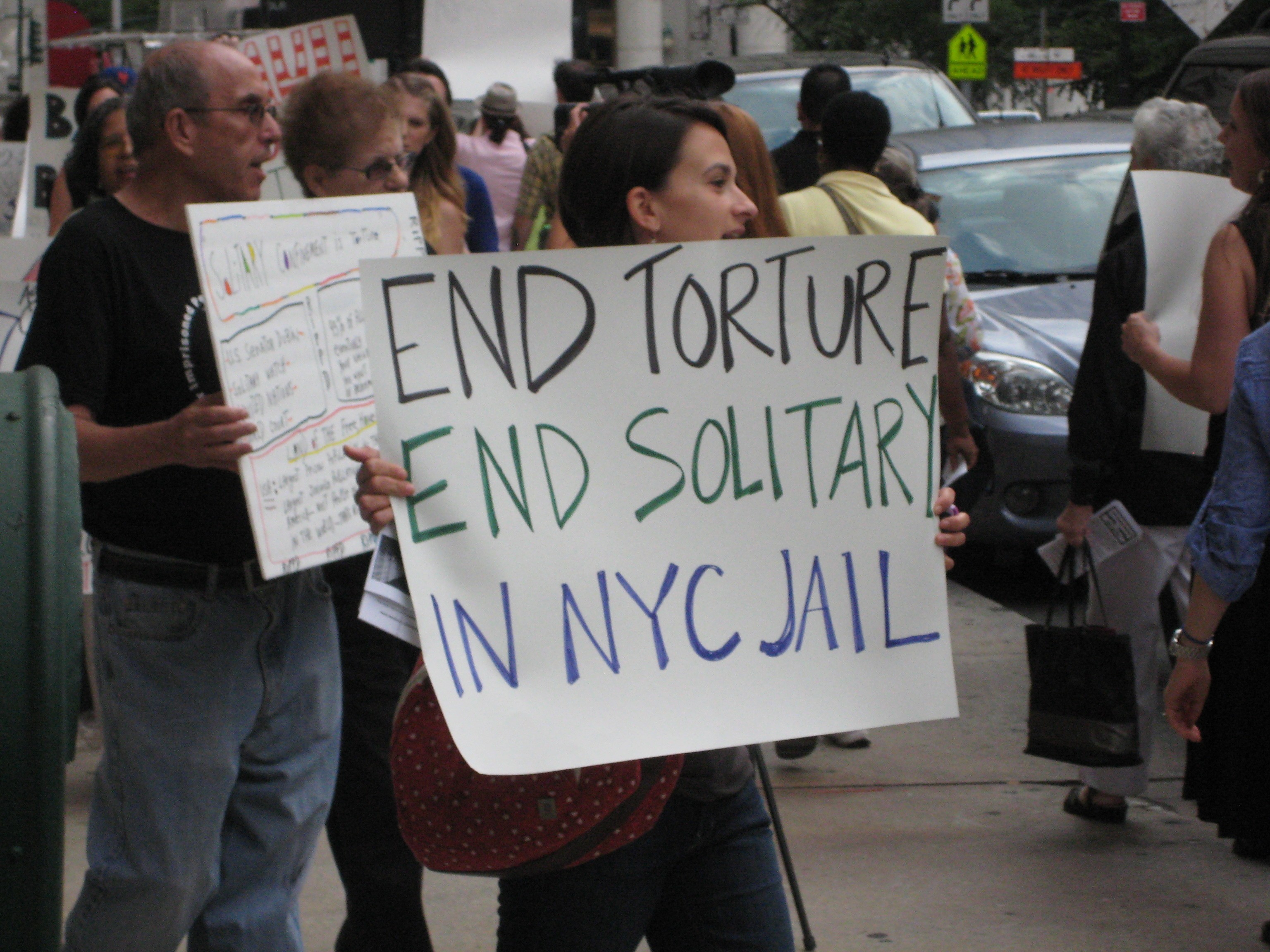 END TORTURE END SOLITARY