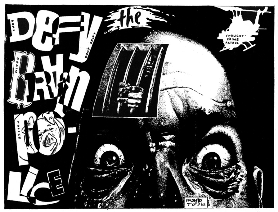 "Brain Police, by Kevin ""Rashid"" Johnson"