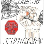 Dare to Struggle, by Carlos Ramirez, held in SHU at Pelican Bay