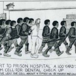 Escort to Prison Hospital 100 Yards from Cell for Dental Checkup, by Thomas Silverstein