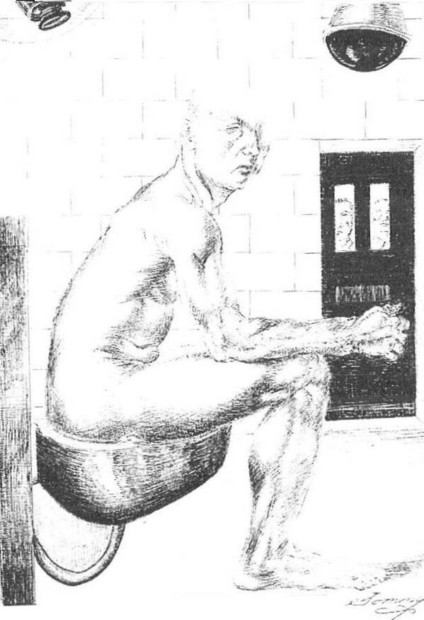 Sketch by Thomas Silverstein