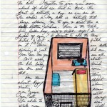 A letter from Herman Wallace to artist Jackie Sumell shows a drawing of his solitary confinement cell (Credits: Hermanshouse.org)
