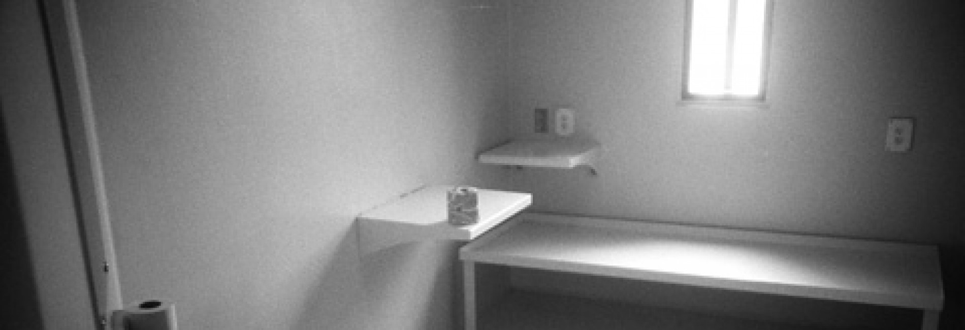 A cell in the supermax unit at Maine State Prison. Photo by Lance Tapley.