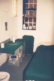 "A cell in a New York State ""Special Housing Unit."""