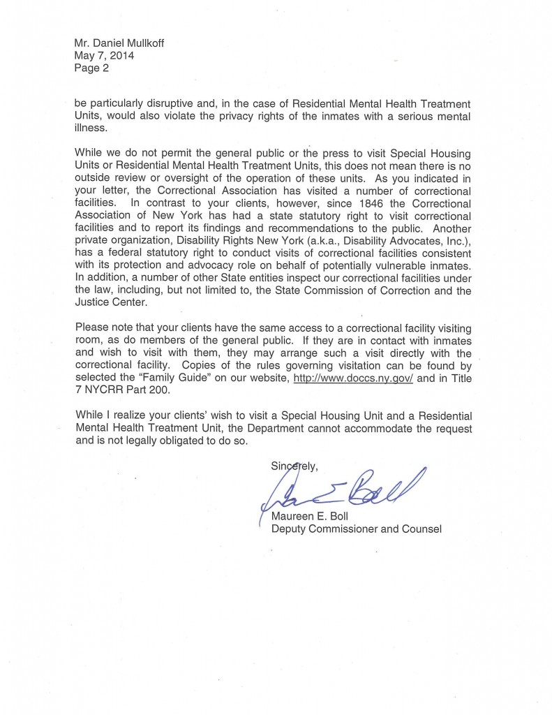 Response Letter from DOCCS 5.7.14 (1)-page-002