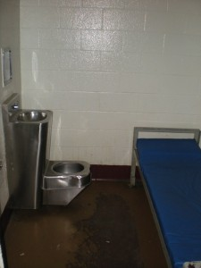 An isolation cell at the Harford County Detention Center. Photo: Aaron Cahall, The Dagger