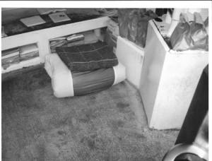 Ashker -- PBSP-SHU5 Floor area standing just inside cell