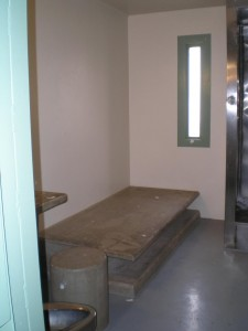Interior of a cell at ADX Florence. Photo from Amnesty International © Private.