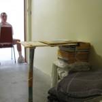 PBSP - Robert Luca sitting in the doorway of his SHU cell