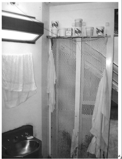 View of another cell at Pelican Bay (Credits:  California Prison Watch)