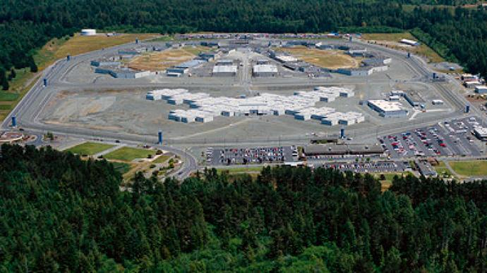 Ariel view of Pelican Bay State Prison