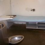 A cell on the Polunsky Unit, Texas death row.