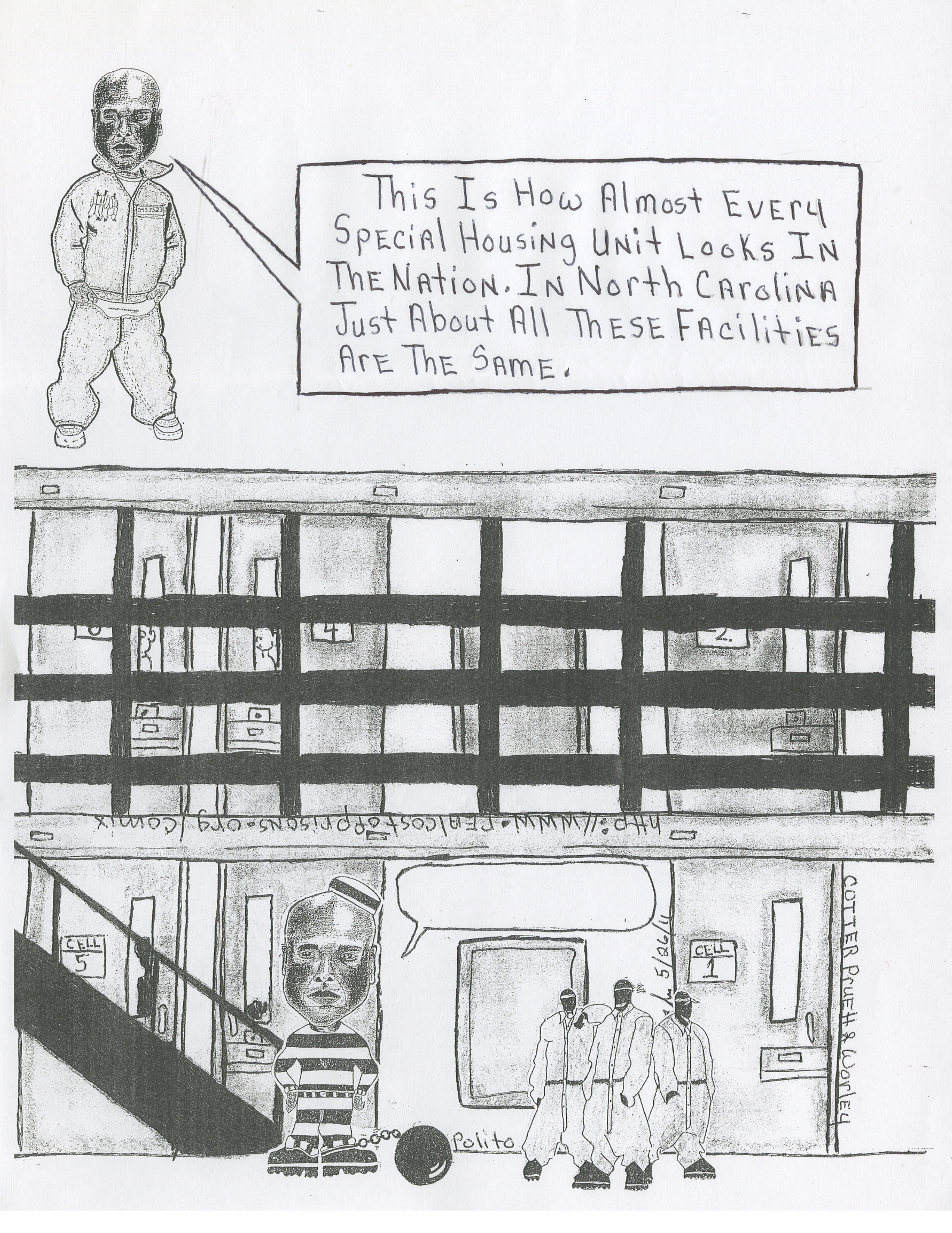 Willie Worley, Jr. Brown Creek Correctional Institute in Polkton, NC