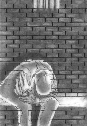 """Prison Galleries Exhibition: ennath Artez Henderson, """"Solitary Confinement"""""""