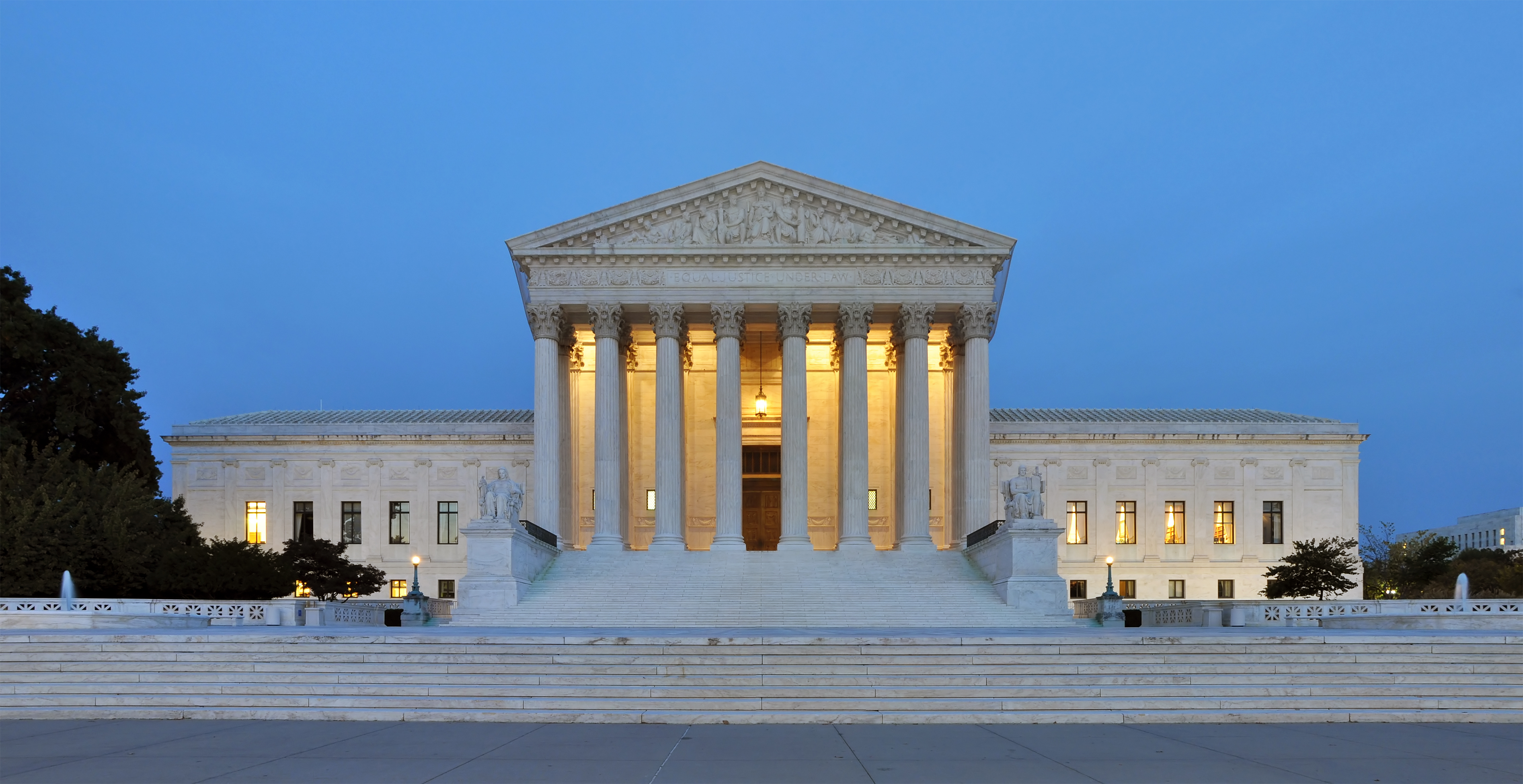 Supreme_Court_Building_at_Dusk