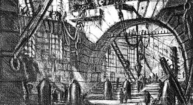 "Piranesi, from ""The Imaginary Prisons"" (1761)"