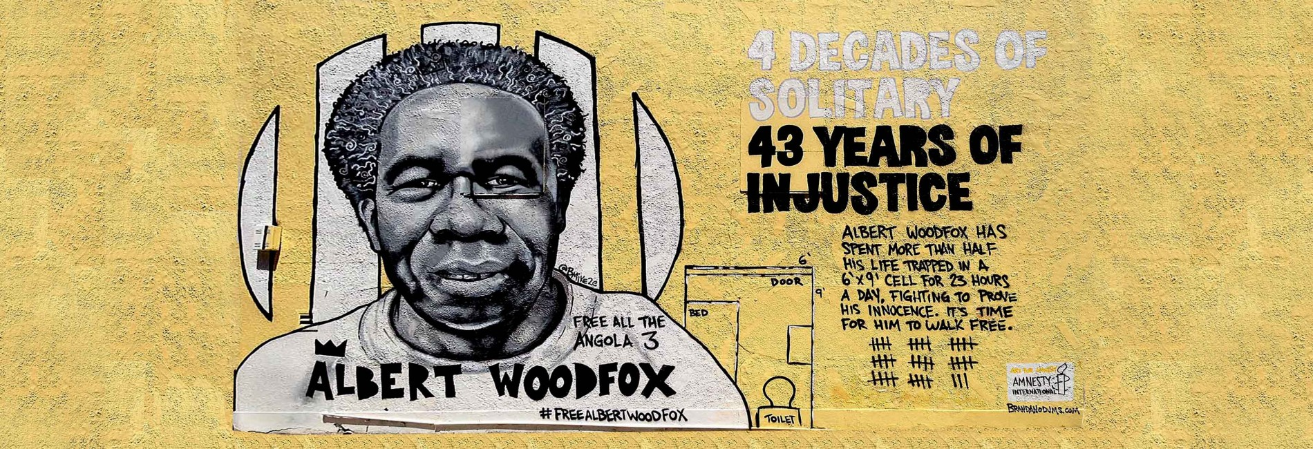 Albert Woodfox Mural