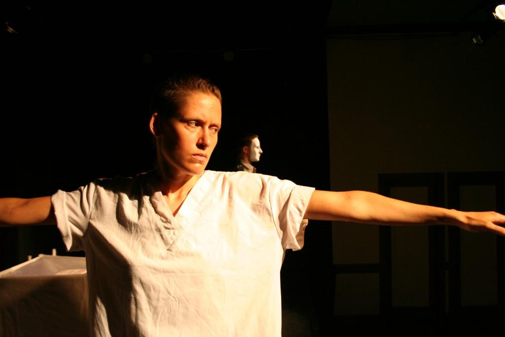 Julia Steele Allen as Mariposa. Photos by Noelle Ghoussaini.