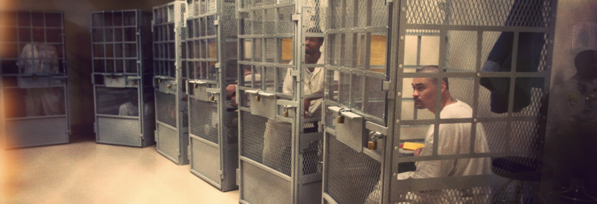 Cages in Solitary – San Quentin