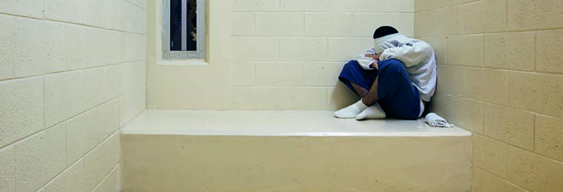 A juvenile in solitary confinement. (Richard Ross/www.juvenile-in-justice.com)