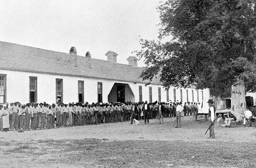 Prison quarters circa 1900. Photo from Louisiana State Library. copy