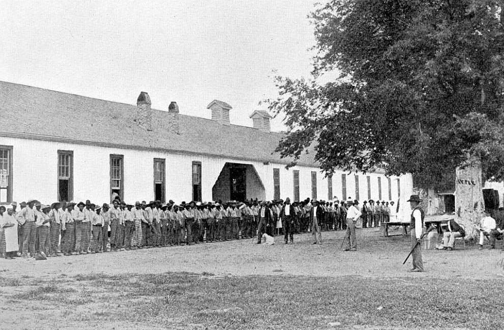 Prison quarters circa 1900. Photo from Louisiana State Library. copy