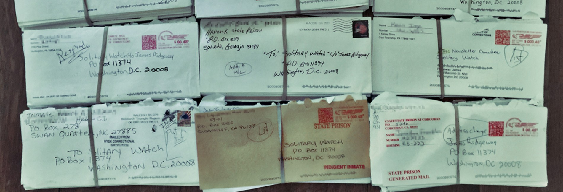 Letters to Solitary Watch