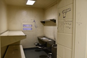 A cell in the Cook County Jail's Special Management Unit, where individuals are now supposed to be allowed out of their cells for at least four hours a day.