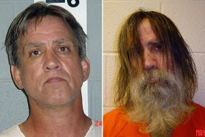 Stephen Slevin before and after spending two years in solitary in the Doña Ana County jail.